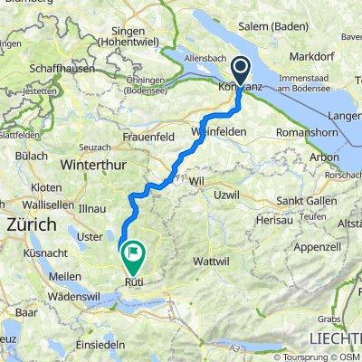 Wartenberg-Tann, 3.Tag über Konstanz