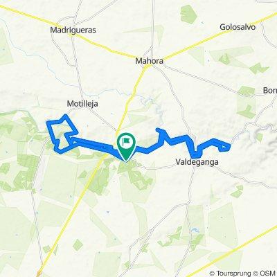 Mariquillas - Bolinches - Valdeganga - Puente Torres - El To...