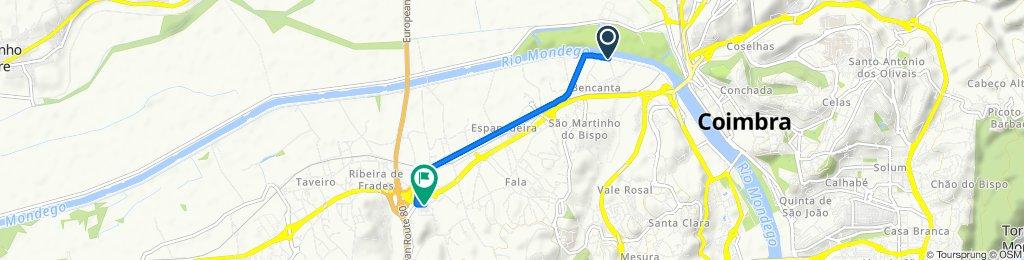 De Rua do Freixo, Coimbra a Urbanização de São Bento 1–3, São Martinho do Bispo