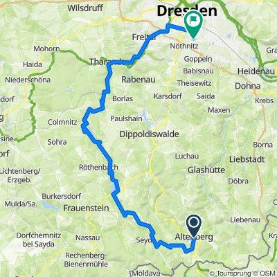 Altenberg-Klingenberg-Tharandt-Dresden