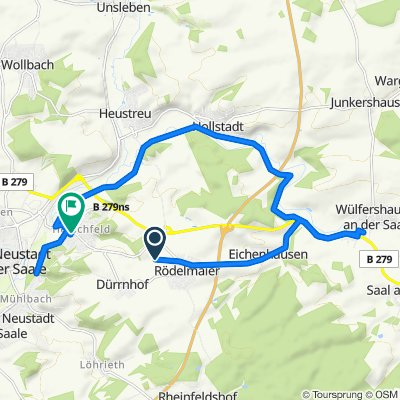 Rödelmaier to Bad Neustadt an der Saale