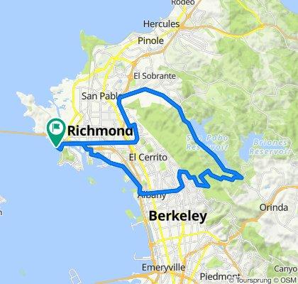 Point Richmond San Pablo Dam Circuit