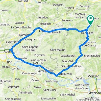 Esp-Valence-Agen-Esp 103km 4oct20