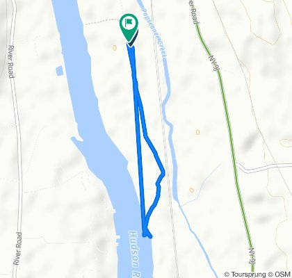 Route to 100 American Oil Rd, Rensselaer