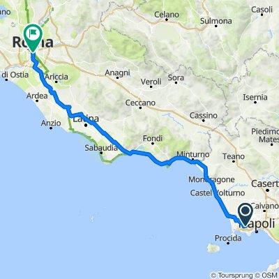 Percorso da Via Provinciale Napoli 28