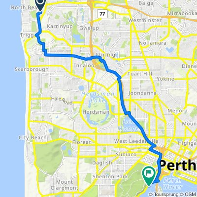 Briston Place 13, North Beach to Mounts Bay Road 171-173, Perth