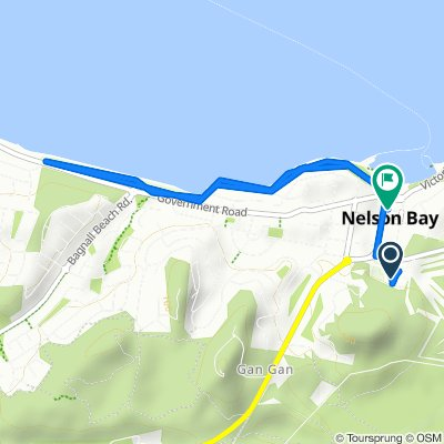 61B Dowling Street, Nelson Bay to 138 Magnus Street, Nelson Bay