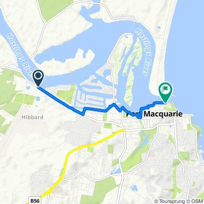 261 Hastings River Drive, Port Macquarie to Breakwall Drive, Port Macquarie