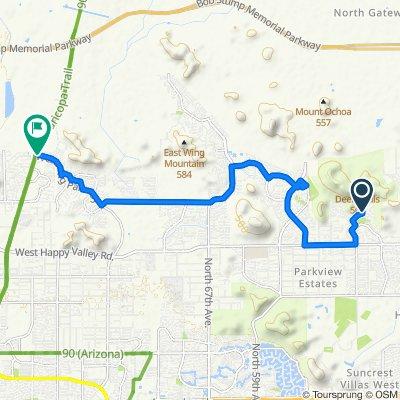 Triathalon 34k  20 miles