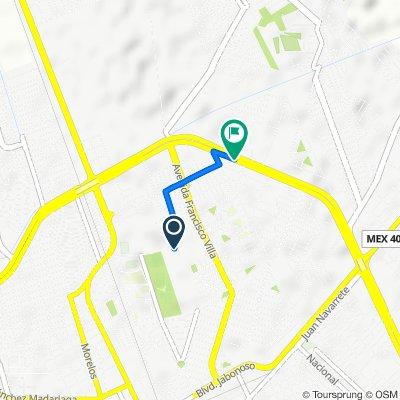 De Avenida Arboledas 101, Gómez Palacio a Boulevard Ejército Mexicano 247, Gómez Palacio