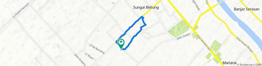 Ganki lg Swakarya 1 50, Kecamatan Pontianak Selatan to Gang Swakarya 1 50, Kecamatan Pontianak Selatan