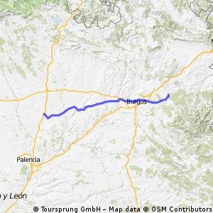 Day 11 - Fromista to San Juan de Ortega