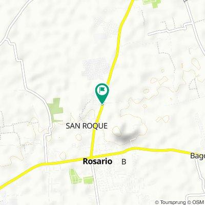 Batangas - Quezon Road 135, Rosario to Batangas - Quezon Road 136, Rosario