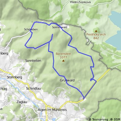 Sonnenwald-Radroute | Schöneben-Ulrichsberg | Böhmerwald