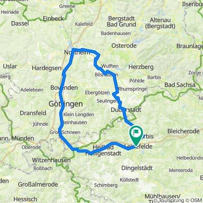 Leine-Rhume-Hahle Rad(rund)weg