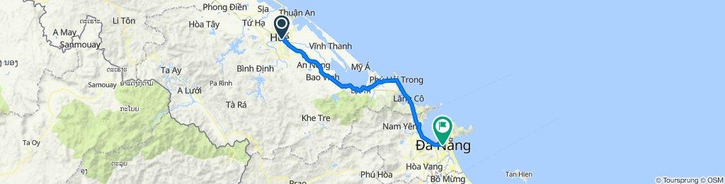 Da Nang To Hue City with Phong Nha Locals