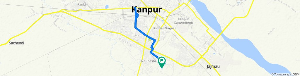 sainik Chauraha, Kanpur to P-19, Kanpur