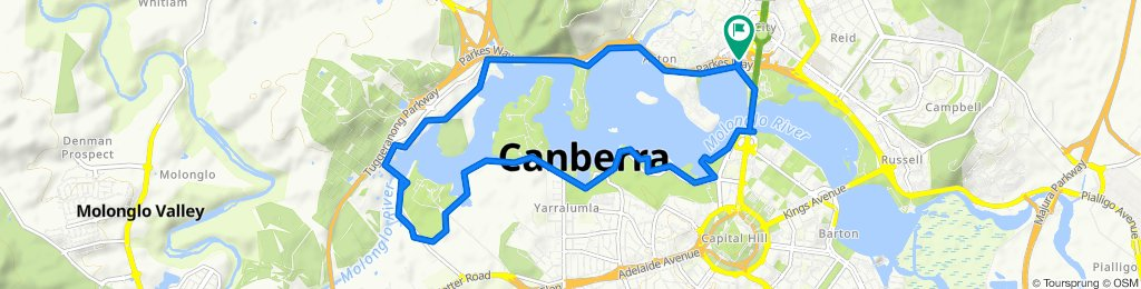19 Marcus Clarke Street, Canberra to 19 Marcus Clarke Street, Canberra