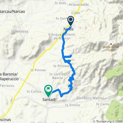 Tappa 19 Ciclovia, Nuxis - Santadi.kml on AllTrails