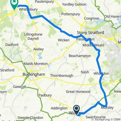 1–5 Horn St, Winslow, Buckingham to 1 Newton Green, Towcester