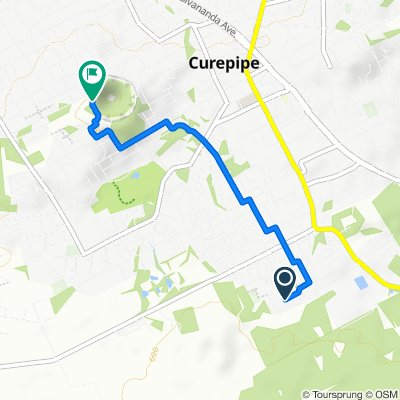 De Unnamed Road, Curepipe à Trou-Aux-Cerfs Road, Curepipe