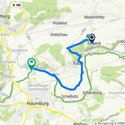 Weststraße 1, Goseck nach Blütengrund, Naumburg (Saale)