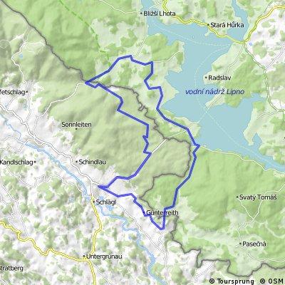 Moldaustausee-Radroute| Aigen im Mühlkreis | Böhmerwald
