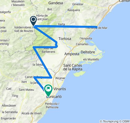 Recortes Tarragona - Peñíscola