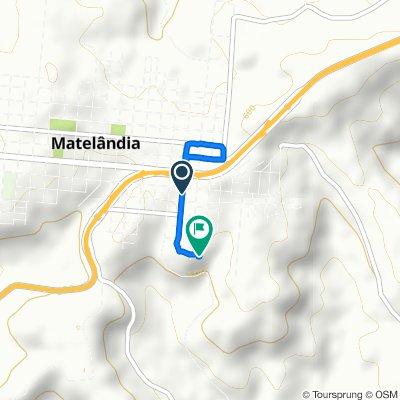 De Rua Rio de Janeiro, 111–233, Matelândia a Rua Minas Gerais, Matelândia
