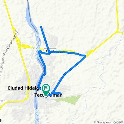 ruta canopi , Ciudad Tecún Umán a RN-8 255, Ciudad Tecún Umán