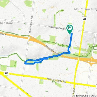 3 Gnarwin Street, Mount Waverley to 4 Gnarwin Street, Mount Waverley