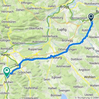 Husmatt 12, Dättwil AG nach Muhenstrasse 58, Oberentfelden