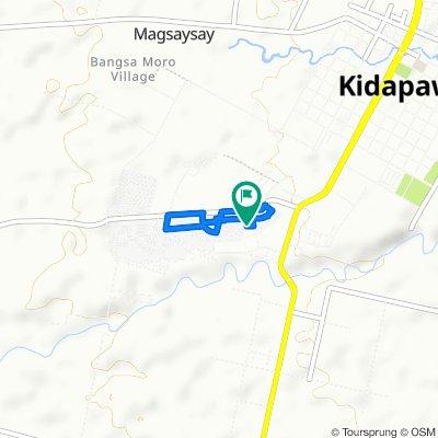 Kidapawan - Singao Road, Kidapawan City to Unnamed Road, Kidapawan City