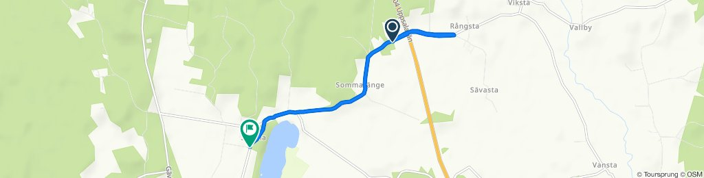 Route to Sätuna 19, Björklinge