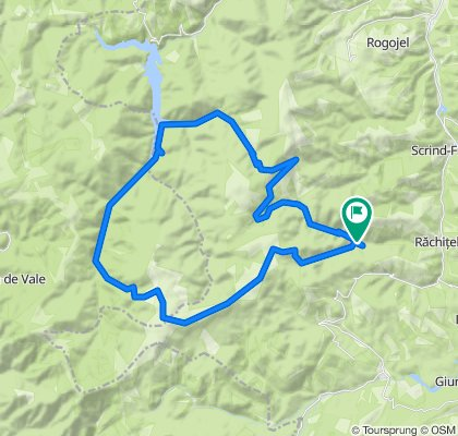 Cascada Rachitele -  Cascada Moara Dracului - Lac Dragan - Pietrele Albe - Cascada Rachitele