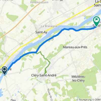De D18, Meung-sur-Loire à 732 Rue de Verdun, Saint-Hilaire-Saint-Mesmin