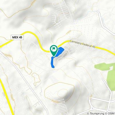 Restful route in León