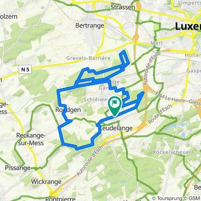 Domaine Schmiseleck 2, Leudelange nach Rue des Champs 14, Leudelange
