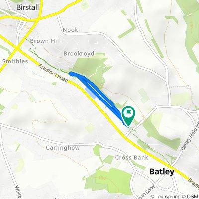 Linear Walk, Batley to 2 Transvaal Ter, Batley