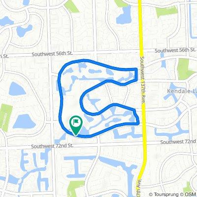 14401–14499 SW 68th St, Miami to 14401–14499 SW 68th St, Miami