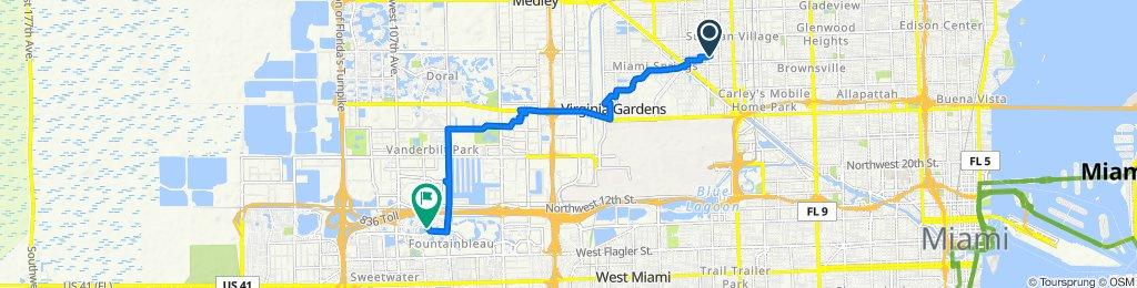 275 E Fourth Ave, Hialeah to 9980 NW Ninth Street Cir, Miami