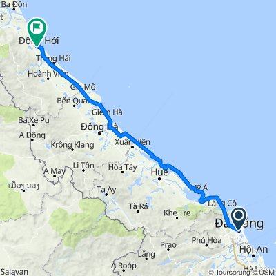 Biking from Da Nang to Dong Hoi with Phong Nha Locals