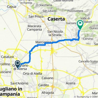 Da Via Virgilio 53, Gricignano di Aversa a SP335 41, Maddaloni