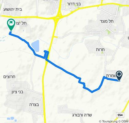 De Mishmeret a Unnamed Road, Tel Yitzhak