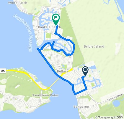 22 Coolgarra Avenue, Bongaree to 3 Pacific Drive, Banksia Beach