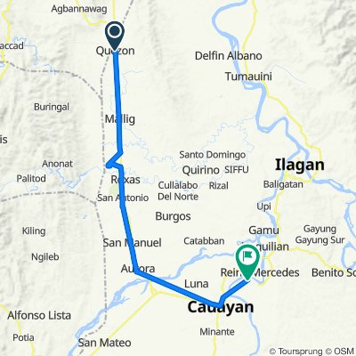 Quezon to Unnamed Road, Cauayan City