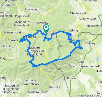 Große Geschriebensteinrunde (great view)