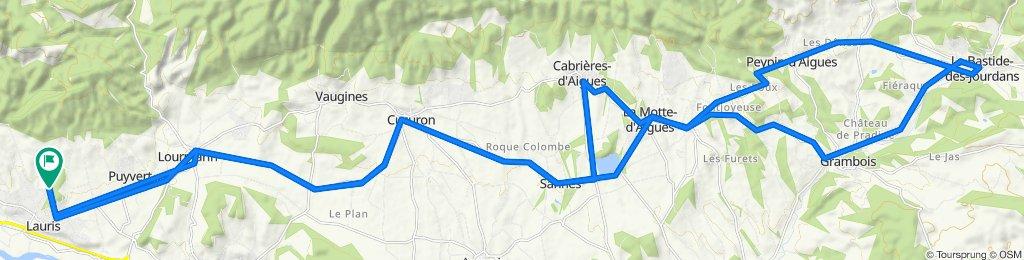 De Chemin de la Marquette 584, Lauris à Chemin de la Marquette 584, Lauris