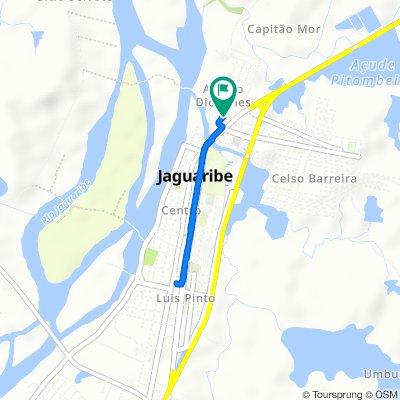 De Rua Antonia Diógenes, 38–150, Jaguaribe a Rua Antonia Diógenes, 39–151, Jaguaribe