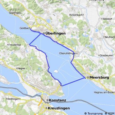 Überlingen Meersburg Konstanz Wallhausen